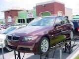 2007 Barbera Red Metallic BMW 3 Series 328i Sedan #30894687