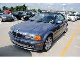 2002 Steel Blue Metallic BMW 3 Series 330i Convertible #30894696