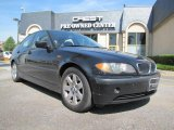 2002 Jet Black BMW 3 Series 325i Sedan #30894743
