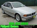 2000 Titanium Silver Metallic BMW 5 Series 528i Sedan #30894471