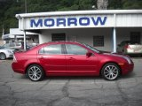 2008 Redfire Metallic Ford Fusion SEL #30935600