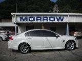 2009 White Hot Pontiac G8 Sedan #30935603