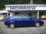 2007 Laser Blue Metallic Chevrolet Cobalt LT Sedan #30935606