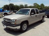 Sandstone Metallic Chevrolet Silverado 1500 in 2005