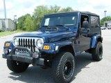 2006 Midnight Blue Pearl Jeep Wrangler Unlimited 4x4 #30935628