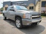 2008 Graystone Metallic Chevrolet Silverado 1500 LT Extended Cab #30936049