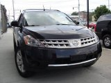 2007 Super Black Nissan Murano S AWD #30895016