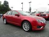 2010 Red Candy Metallic Ford Fusion SEL #30935649