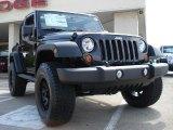 2010 Black Jeep Wrangler Sport 4x4 #30936119