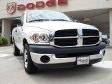 2007 Bright White Dodge Ram 1500 ST Regular Cab #30936123