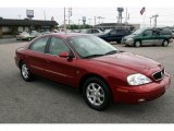 2000 Toreador Red Metallic Mercury Sable LS Premium Sedan #30935739