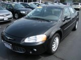 2002 Black Chrysler Sebring LXi Sedan #30935758