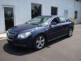 2008 Imperial Blue Metallic Chevrolet Malibu LT Sedan #30894235