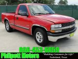 1999 Victory Red Chevrolet Silverado 1500 Regular Cab #30935774