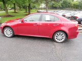 2008 Matador Red Mica Lexus IS 250 AWD #30936199