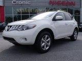 2010 Glacier White Pearl Nissan Murano SL #30935818