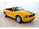 2007 Grabber Orange Ford Mustang V6 Premium Convertible #30894888