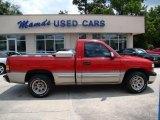 2000 Victory Red Chevrolet Silverado 1500 Regular Cab #30935871