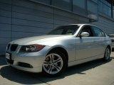 2008 Titanium Silver Metallic BMW 3 Series 328xi Sedan #30935501