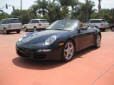 2007 Midnight Blue Metallic Porsche 911 Carrera Cabriolet #30935518