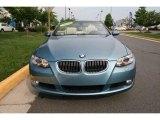 2009 Atlantic Blue Metallic BMW 3 Series 328i Convertible #31038074