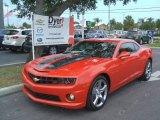 2010 Inferno Orange Metallic Chevrolet Camaro SS/RS Coupe #31038196