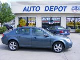 2007 Blue Granite Metallic Chevrolet Cobalt LS Sedan #31038215