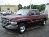 2001 Dark Garnet Red Pearl Dodge Ram 1500 SLT Club Cab #31038410