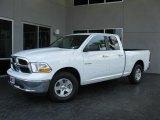 2010 Stone White Dodge Ram 1500 SLT Quad Cab #31038119