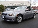 2007 Space Gray Metallic BMW 3 Series 328xi Coupe #3091727