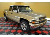 2001 Sunset Gold Metallic Chevrolet Silverado 1500 LT Extended Cab 4x4 #31038443