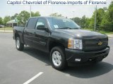 2010 Black Granite Metallic Chevrolet Silverado 1500 LT Crew Cab 4x4 #31038566