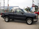 2006 Dark Blue Metallic Chevrolet Silverado 1500 Regular Cab 4x4 #31038609