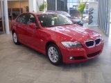 2010 Crimson Red BMW 3 Series 328i xDrive Sedan #31073618