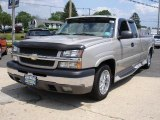 2004 Silver Birch Metallic Chevrolet Silverado 1500 LT Extended Cab #31073486