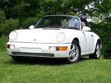 Grand Prix White Porsche 911 in 1992