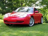 1999 Guards Red Porsche 911 Carrera Coupe #31073594