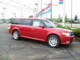 2010 Red Candy Metallic Ford Flex SEL #31079900