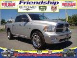 2010 Bright Silver Metallic Dodge Ram 1500 Big Horn Crew Cab 4x4 #31079688