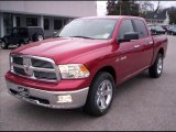 2010 Inferno Red Crystal Pearl Dodge Ram 1500 Big Horn Crew Cab 4x4 #31079689