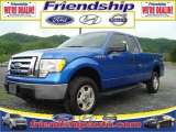 2010 Blue Flame Metallic Ford F150 XLT SuperCab 4x4 #31079692