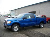 2010 Blue Flame Metallic Ford F150 XLT SuperCab 4x4 #31079910