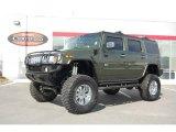 2003 Sage Green Metallic Hummer H2 SUV #3099872