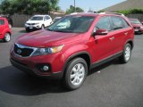 2011 Spicy Red Kia Sorento LX #31080220