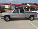 2003 Light Pewter Metallic Chevrolet Silverado 1500 LS Crew Cab 4x4 #31080236