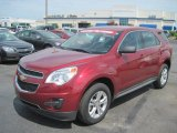 2010 Cardinal Red Metallic Chevrolet Equinox LS #31080244