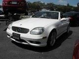 2002 Mercedes-Benz SLK Alabaster White