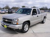 2006 Sandstone Metallic Chevrolet Silverado 1500 LT Extended Cab #3098665