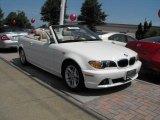 2004 Alpine White BMW 3 Series 325i Convertible #31079456