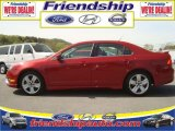 2010 Sangria Red Metallic Ford Fusion Sport #31079738